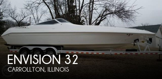 Used Boats For Sale in Springfield, Illinois by owner | 1995 Envision 32