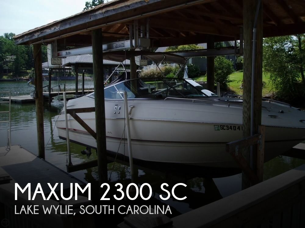 Used Power boats For Sale by owner | 2002 Maxum 23
