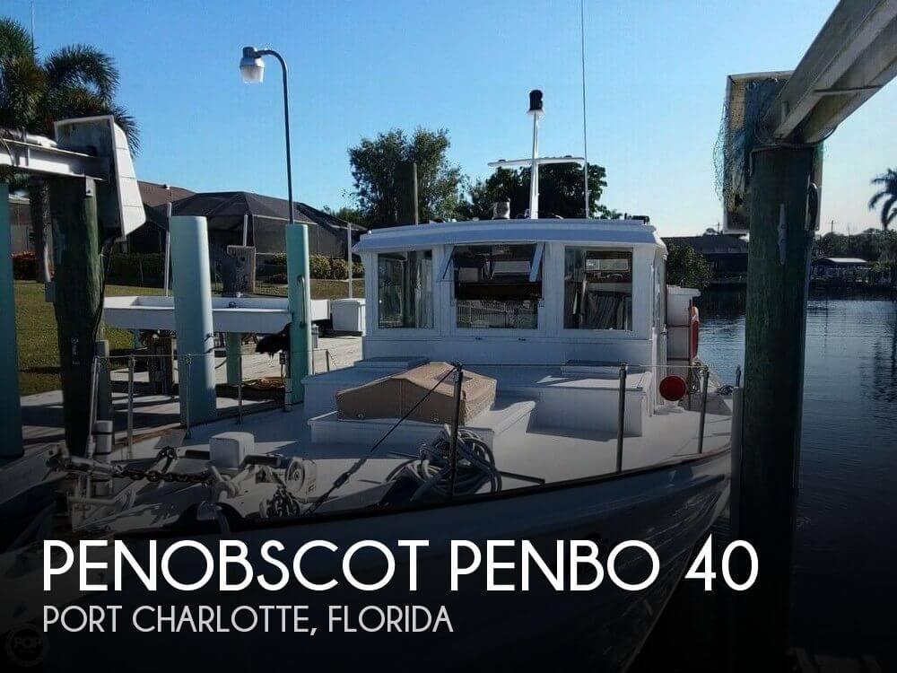 1964 Penobscot Boat Works 40