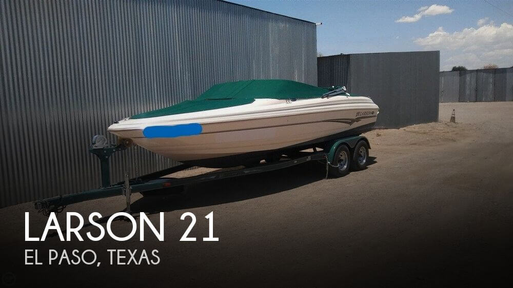 Used Boats For Sale by owner | 2002 Larson 21