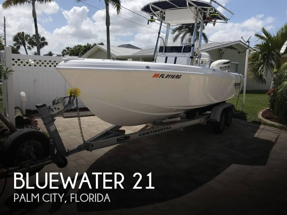 Used Bluewater Boats For Sale by owner | 2017 Bluewater 21