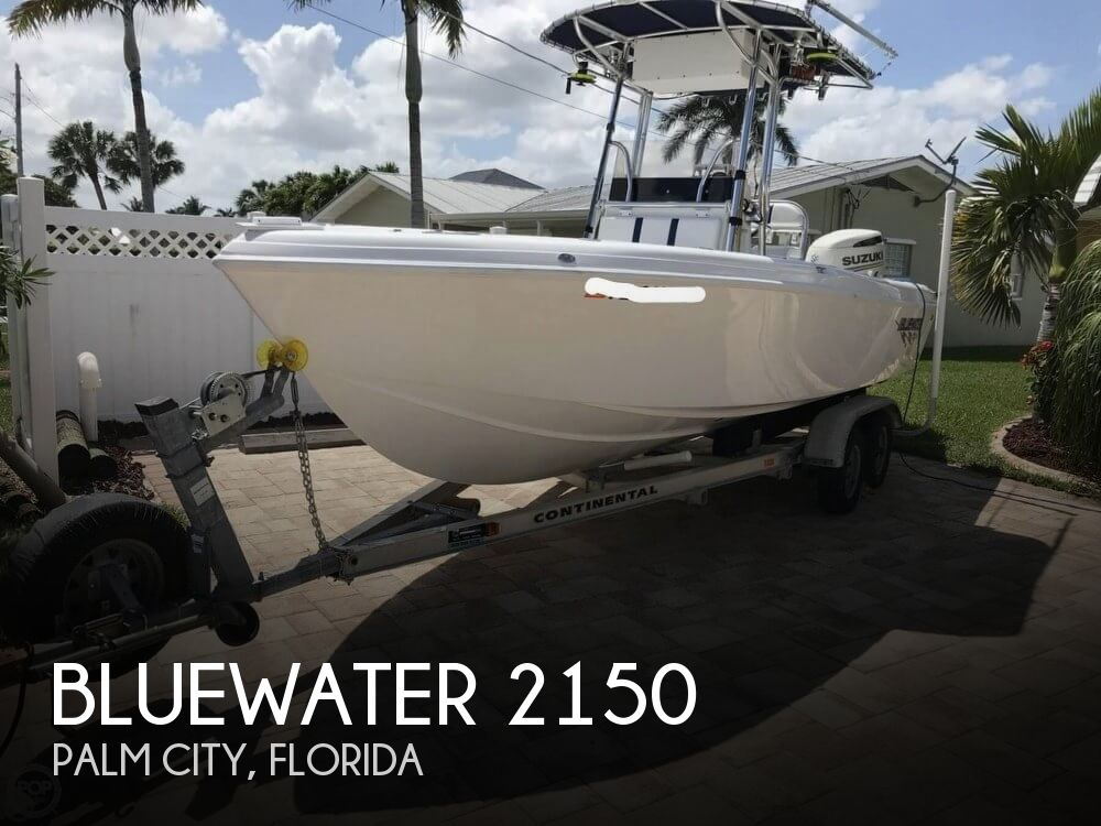 2017 Blue Water boat for sale, model of the boat is 2150 & Image # 1 of 40