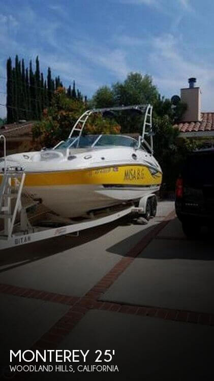 Used Monterey Boats For Sale in California by owner | 2005 Monterey 24