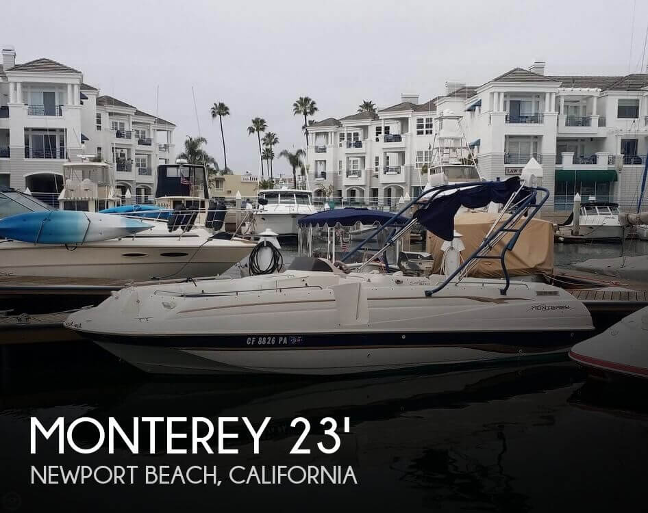 Used Monterey Boats For Sale in California by owner | 1998 Monterey 23