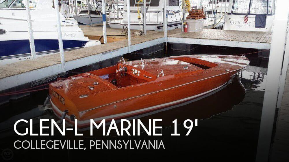 Used Boats For Sale in Allentown, Pennsylvania by owner | 2012 Glen-L Marine 19