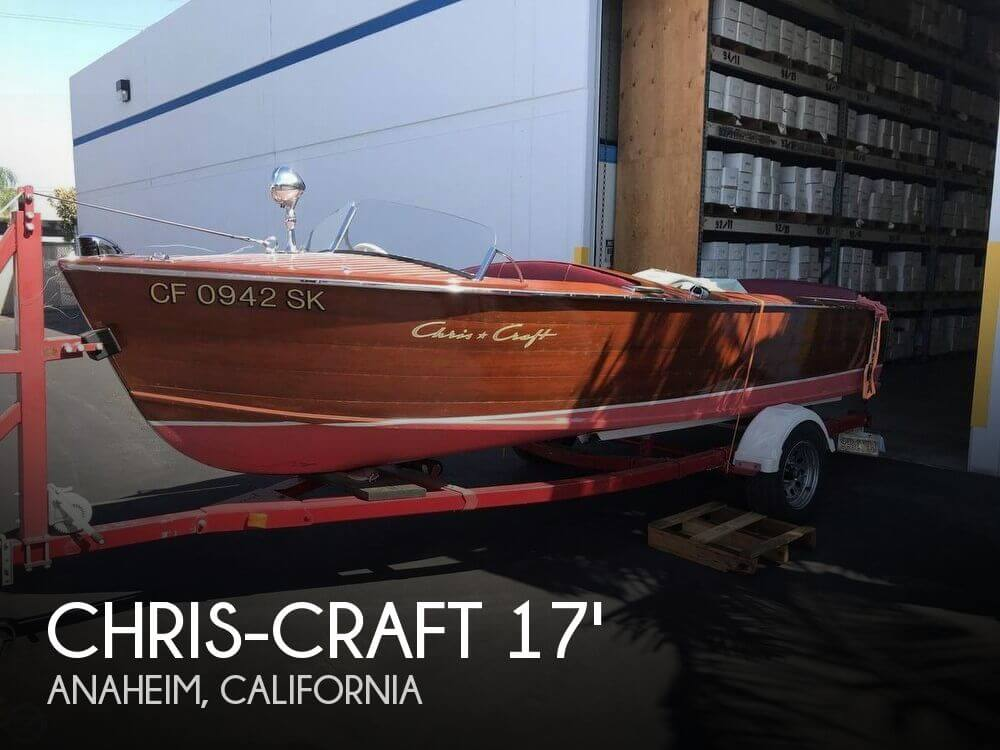 Used Chris-Craft Boats For Sale in California by owner | 1954 Chris-Craft 17