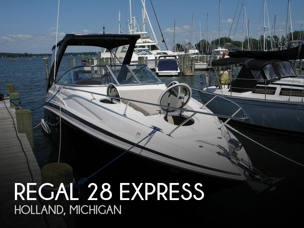 2014 Regal boat for sale, model of the boat is 28 Express & Image # 1 of 40