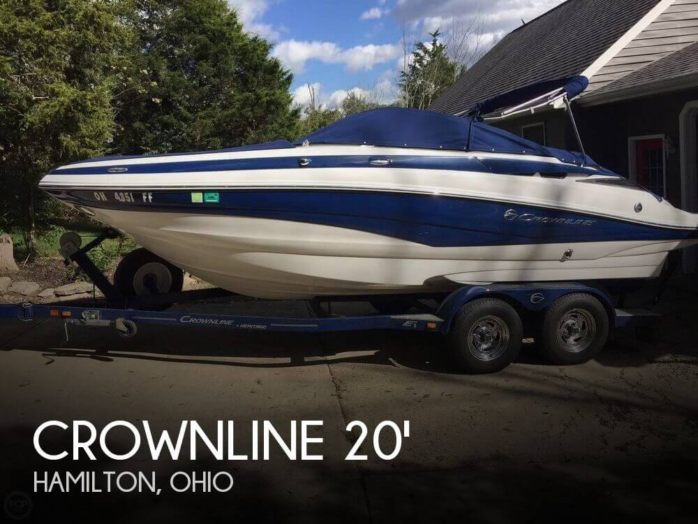 Used Crownline Deck Boats For Sale by owner | 2012 Crownline 20