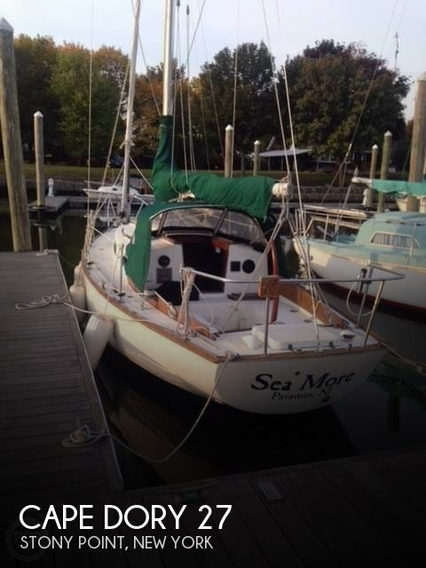 Used CAPE DORY Boats For Sale by owner | 1977 Cape Dory 27