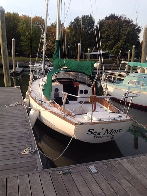 1977 Cape Dory boat for sale, model of the boat is 27 & Image # 3 of 40