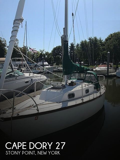 1977 Cape Dory boat for sale, model of the boat is 27 & Image # 1 of 40