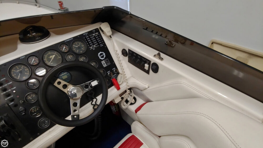 1991 Fountain boat for sale, model of the boat is 29 Fever & Image # 19 of 40