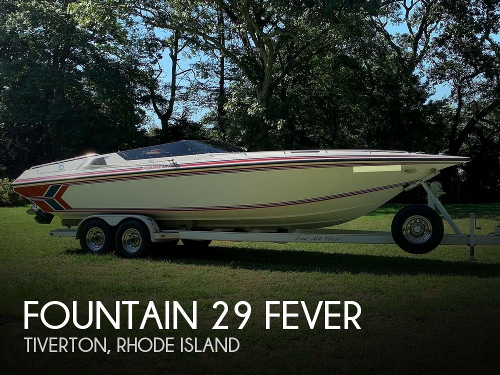 1991 Fountain boat for sale, model of the boat is 29 Fever & Image # 1 of 40