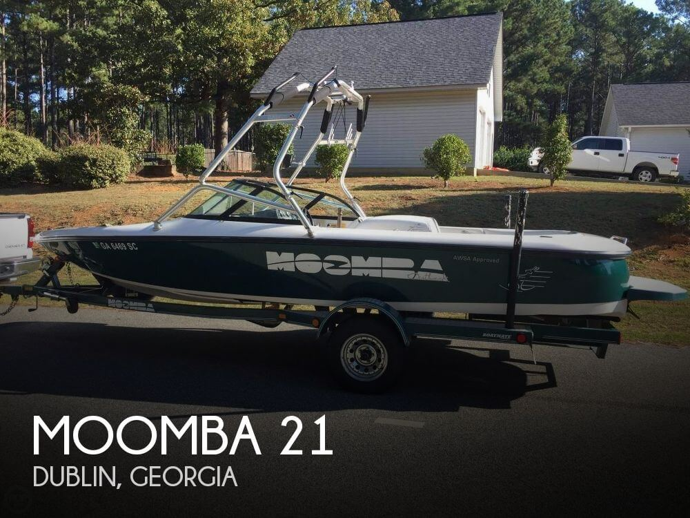 Used Boats For Sale in Macon, Georgia by owner | 2000 Moomba 21