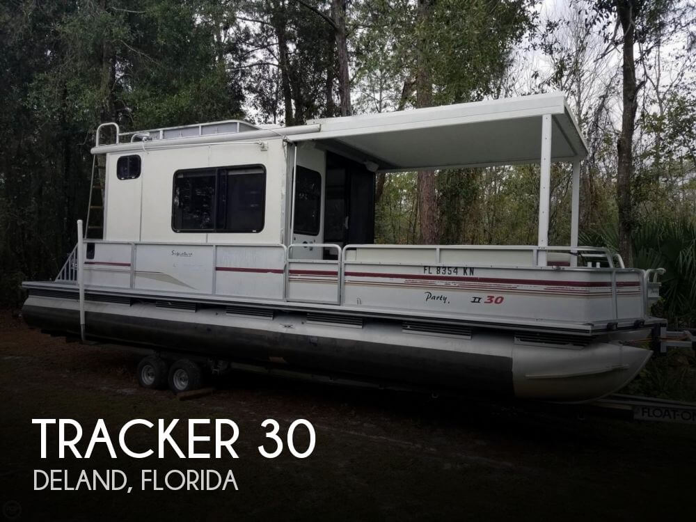 Used Pontoon Boats For Sale in Florida by owner | 1997 Tracker 30