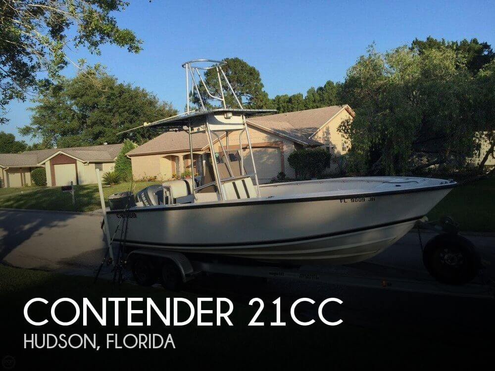 Used Contender Boats For Sale by owner | 1994 Contender 21