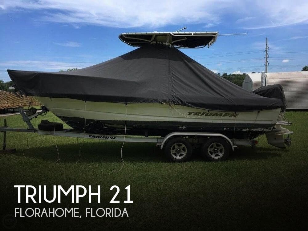 Used Triumph Boats For Sale by owner | 2008 Triumph 21