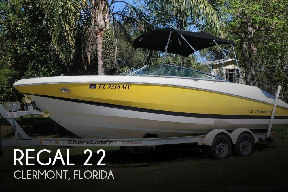 Used Regal 22 Boats For Sale by owner | 2005 Regal 22