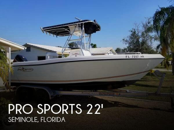 Used Pro Sports Boats For Sale by owner | 2004 Pro Sports 22