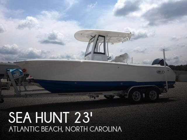 Used Sea Hunt Boats For Sale in North Carolina by owner | 2018 Sea Hunt 23