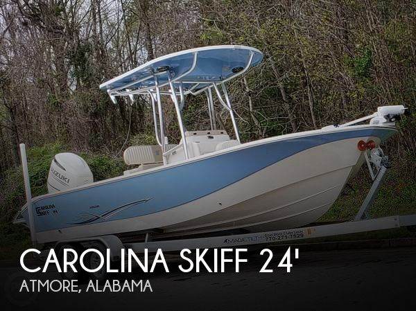 Used Boats For Sale in Alabama by owner | 2018 Carolina Skiff 24