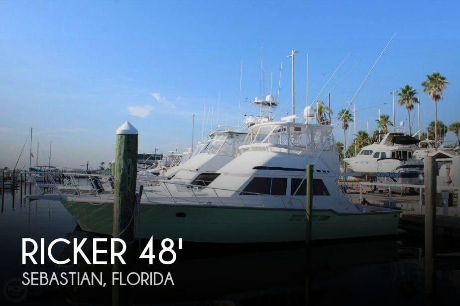 Used Boats For Sale in Orlando, Florida by owner | 1994 Ricker 48