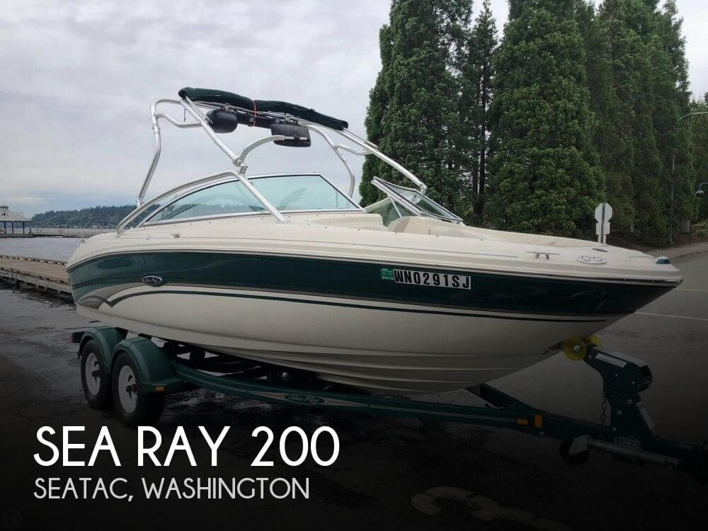 Used Sea Ray Boats For Sale in Washington by owner | 2002 Sea Ray 20