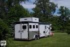 2013 Hoosier 36' Gooseneck Horse Trailer w/ Living Quarters - #1