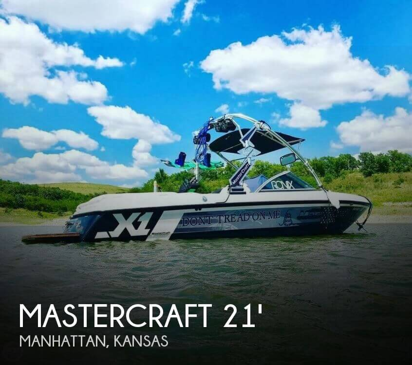 Used Boats For Sale in Kansas by owner | 2007 Mastercraft 21