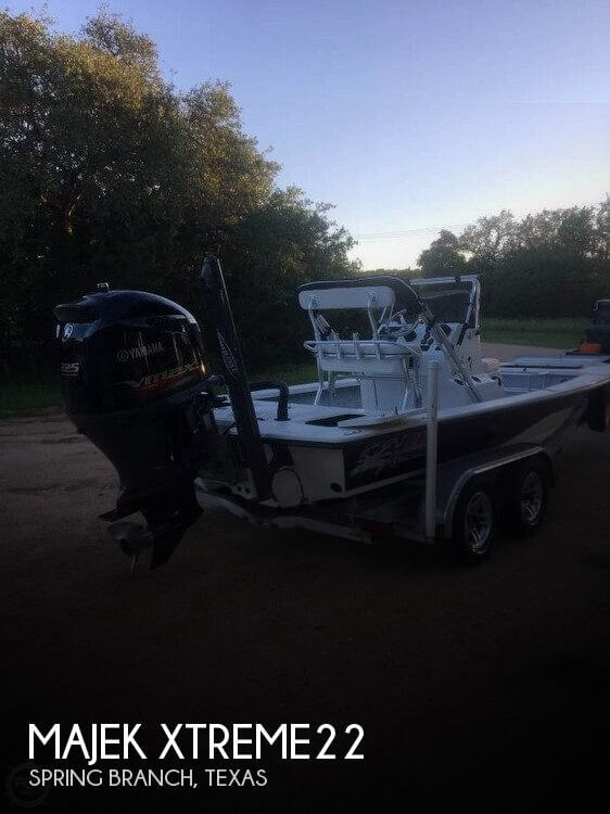 Used Boats For Sale in San Antonio, Texas by owner | 2015 Majek 22