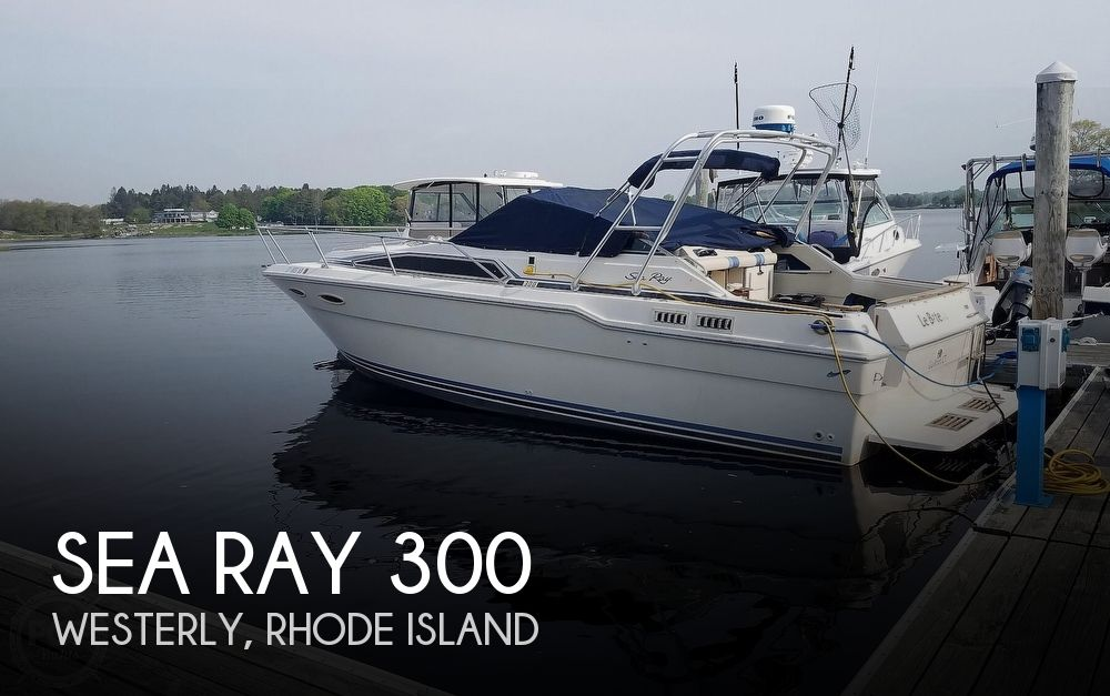 1988 Sea Ray boat for sale, model of the boat is 300 Sundancer & Image # 1 of 40