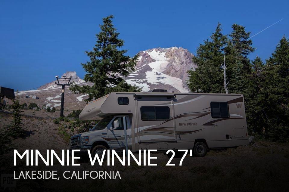 2014 Winnebago Minnie Winnie 27Q