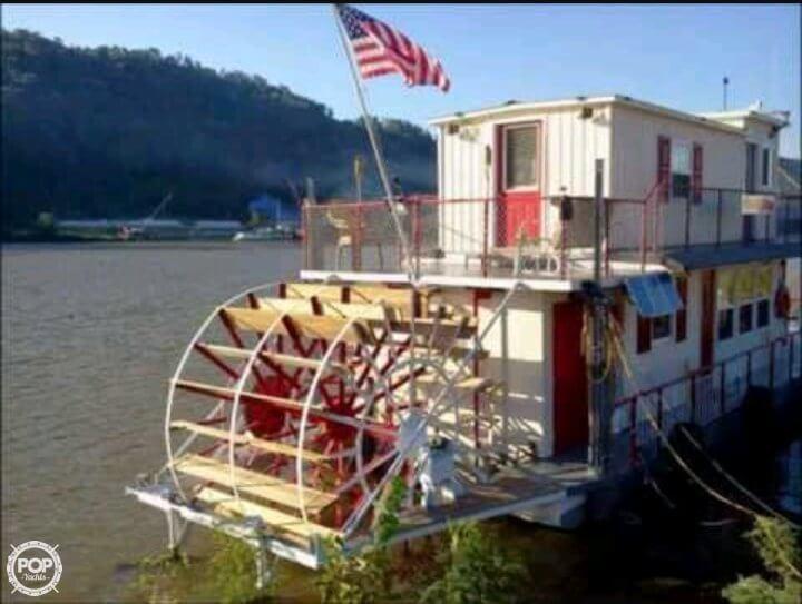 2013 Custom boat for sale, model of the boat is 56' Sternwheeler & Image # 2 of 40