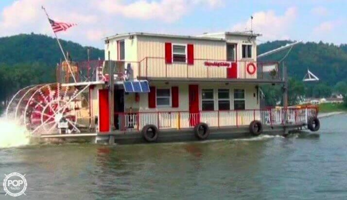 2013 Custom boat for sale, model of the boat is 56' Sternwheeler & Image # 6 of 40