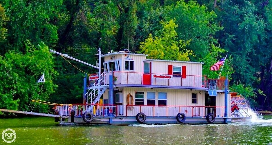 2013 Custom boat for sale, model of the boat is 56' Sternwheeler & Image # 8 of 40