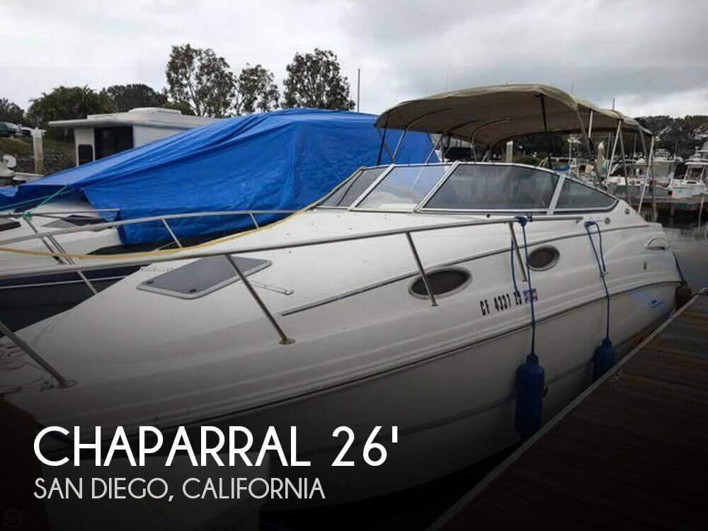 Used Chaparral Boats For Sale in California by owner | 2004 Chaparral 26