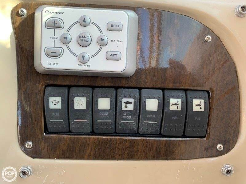 2004 Chaparral boat for sale, model of the boat is 260 Signature & Image # 39 of 40
