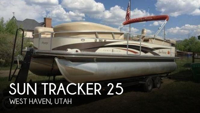 Used Sun Tracker Pontoon Boats For Sale by owner | 2008 Sun Tracker 25