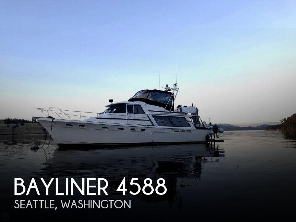 Used Boats For Sale in Olympia, Washington by owner | 1991 Bayliner 51