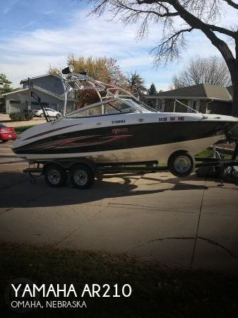 Used Boats For Sale in Lincoln, Nebraska by owner | 2007 Yamaha 21