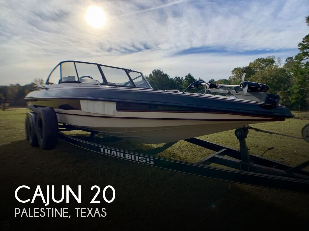 1995 Cajun boat for sale, model of the boat is 20 & Image # 1 of 40