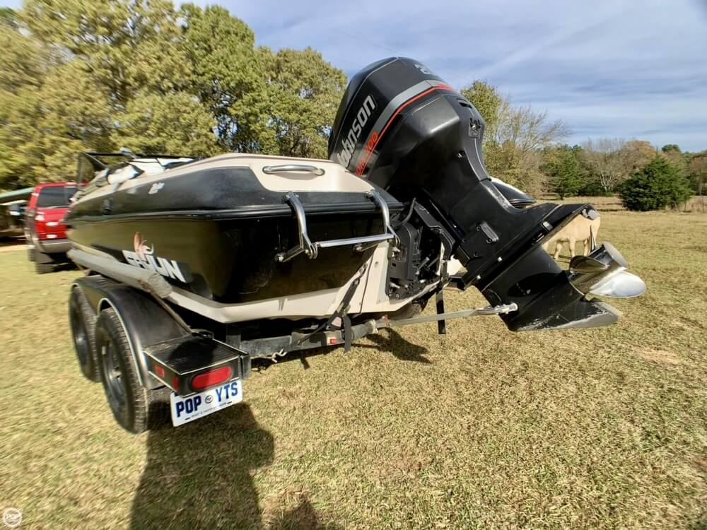 1995 Cajun boat for sale, model of the boat is 20 & Image # 12 of 40