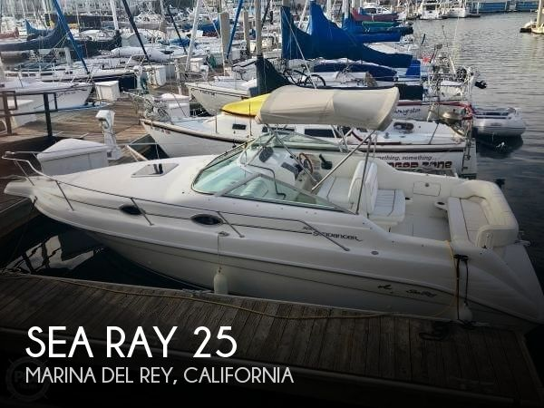 Used Sea Ray Boats For Sale in Oxnard, California by owner | 1996 Sea Ray 25