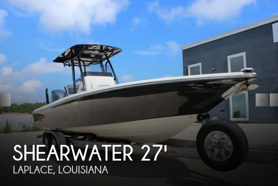 Used Boats For Sale in New Orleans, Louisiana by owner | 2016 Shearwater 27
