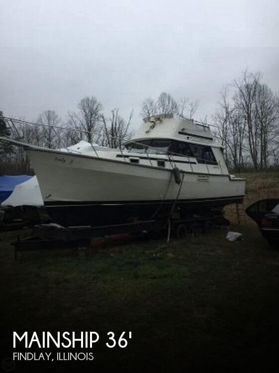 Used Boats For Sale in Springfield, Illinois by owner | 1988 Mainship 35