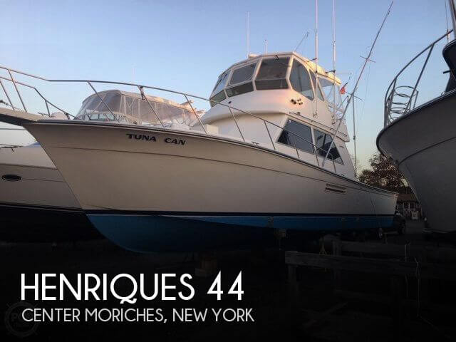 Used Fishing boats For Sale in New York by owner | 1989 Henriques 44