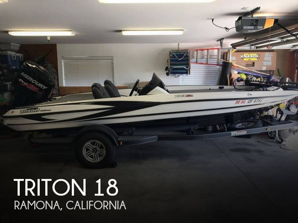Used Triton  Boats For Sale by owner | 2017 Triton 18