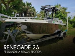 2006 Renegade 23 Open Fisherman
