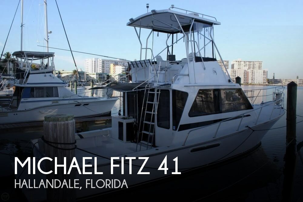 Used Fishing boats For Sale in Florida by owner | 1993 Michael Fitz 41