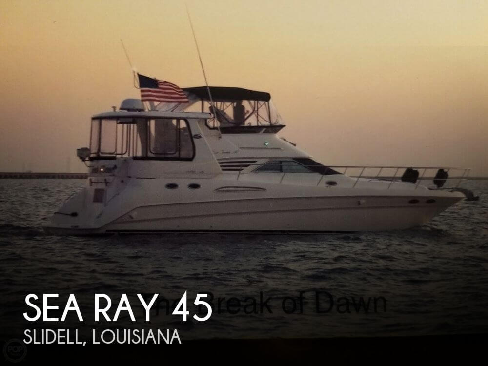 Used Boats For Sale in New Orleans, Louisiana by owner | 1999 Sea Ray 45